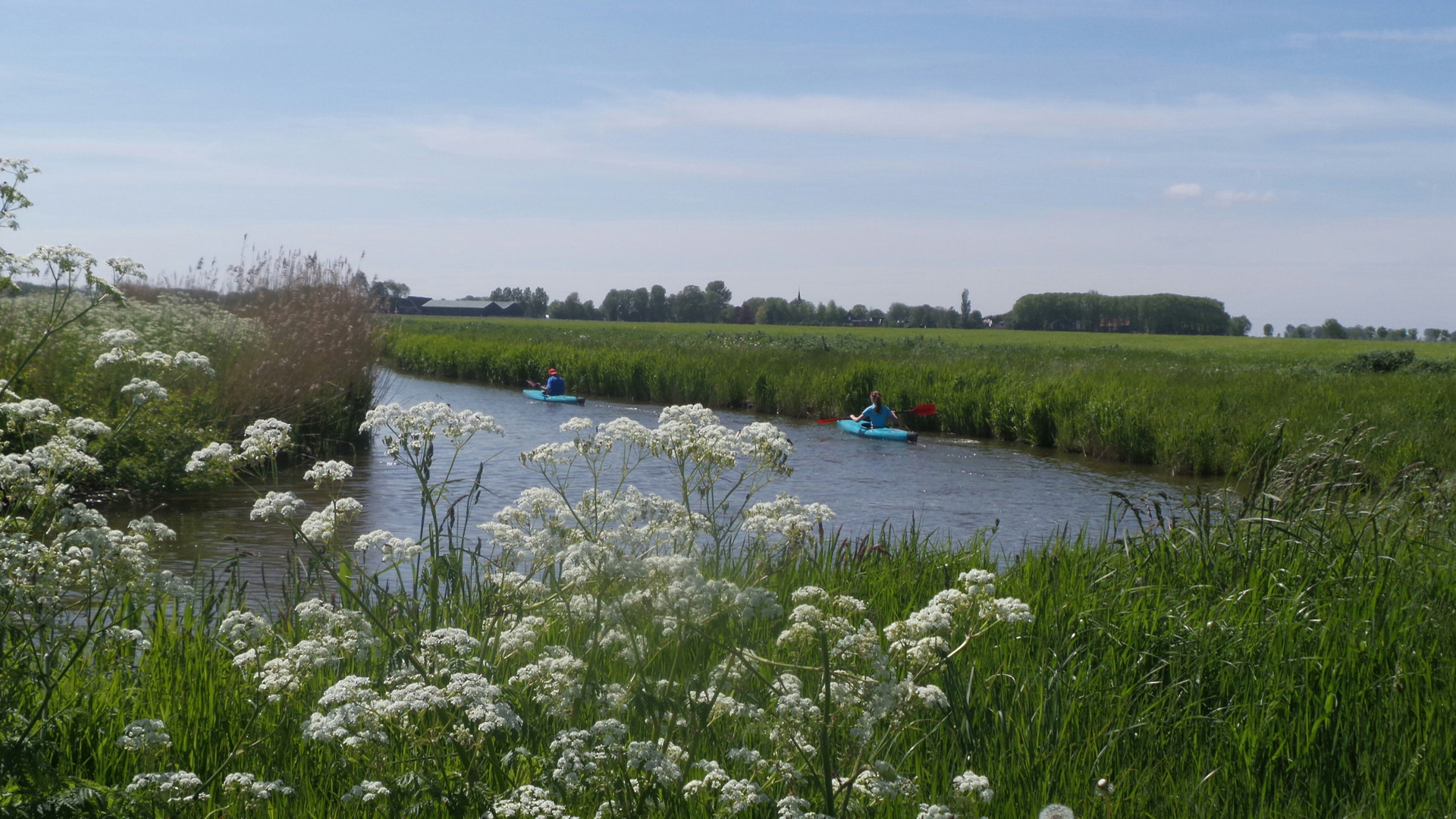 De Horizon Molenrij kano